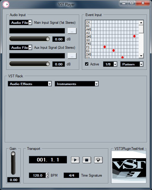 Steinberg VST Player